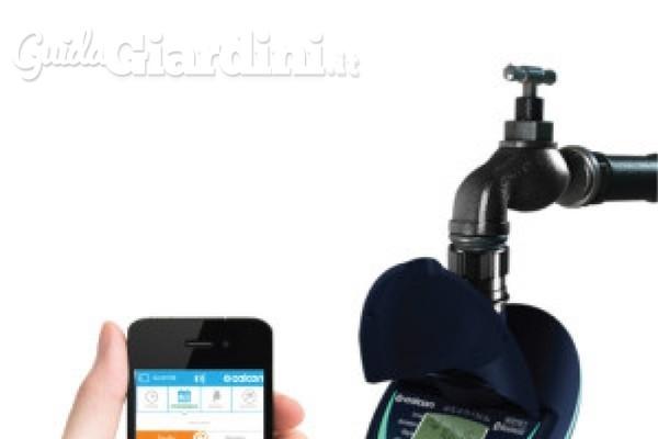 Irrigare il giardino con lo Smartphone