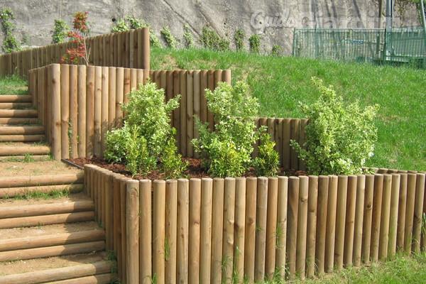 A ogni giardino la sua recinzione for Recinzioni giardino legno