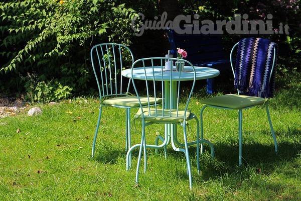 Arredamento da giardino il minimal fa primavera for Arredamento da giardino design