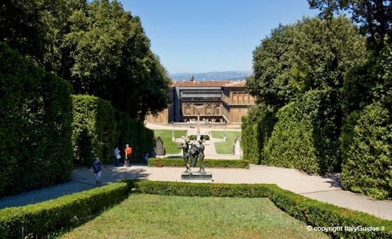 La geometria perfetta del giardino all italiana - I giardini di boboli ...