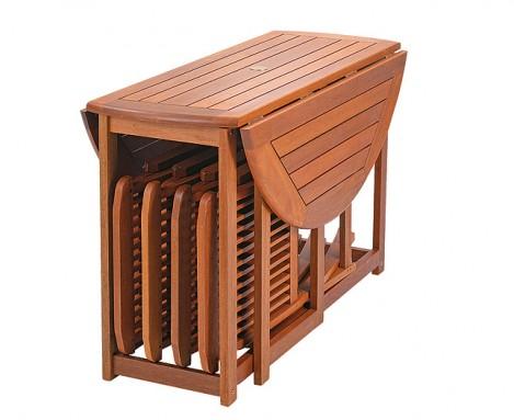 Tavolo Da Esterno Pieghevole.Tavoli Da Giardino In Legno Pieghevoli Terredelgentile