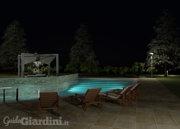 Render - Studio piscina