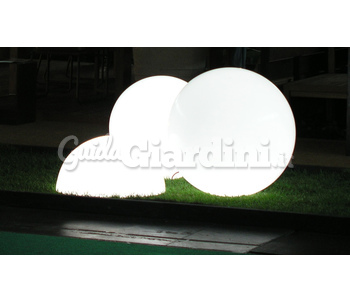 Sfere luminose - Sfere illuminazione giardino ...