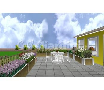 Realizzazione Terrazzi Balconi Fioriti