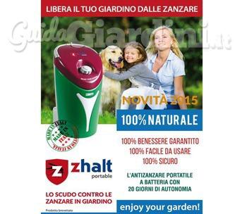 Zhalt portable lo scudo contro le zanzare in giardino - Contro le zanzare in giardino ...