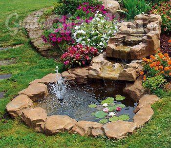 Giardini for Cascate in giardino